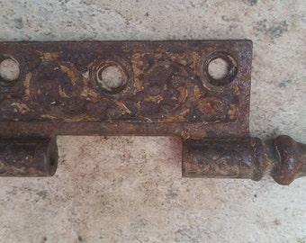 Vintage Metal Hinge altered art metal hardware