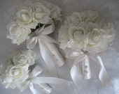 Reserved listing for a custom order for.....Kate......Pretty little flowergirl bouquet