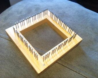 "3"" Bamboo Traditional Mini Loom"