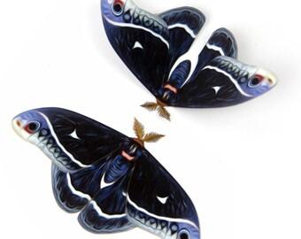 "Calleta Small 4"" Papercut Moth Decoration"