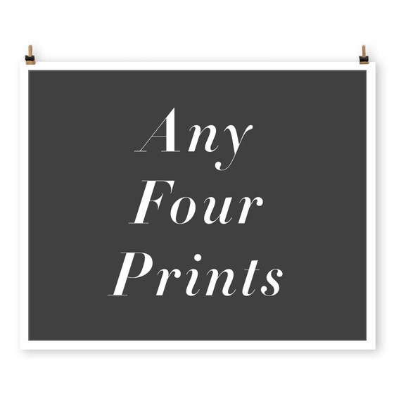 SAVE 30% On Any Four Prints, Custom Paris Photography Collection