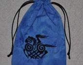 Viking Sleipnir goddess rune tarot bag