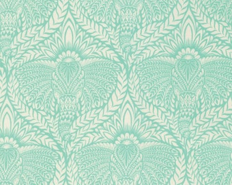 Tula Pink Fabric by the Yard - Tula Pink Eden - Deity in Mojito - Quilter's Cotton