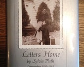 Letters Home by Sylvia Plath vintage book