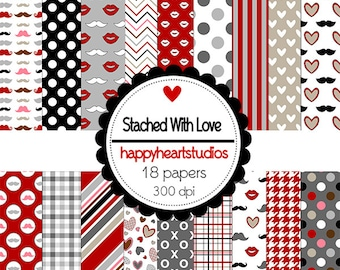 DigitalScrapbook StachedWithLove -INSTANT DOWNLOADo