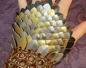 "Blackmaille ""Ravage"" Chainmaille Gauntlet Bracelet"
