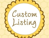 Custom listing for Lisa Moonen