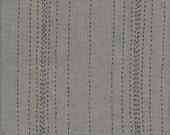 Andover Fabrics Chambray Rules in Green - Half Yard