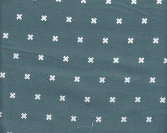Cotton + Steel Basics XOXO in Sea Monster - Half Yard