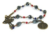 Saint Benedict Christian Prayer Beads, Anglican Chaplet