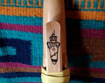 E Minor Spanish Cedar Native American Style Shaman Flute