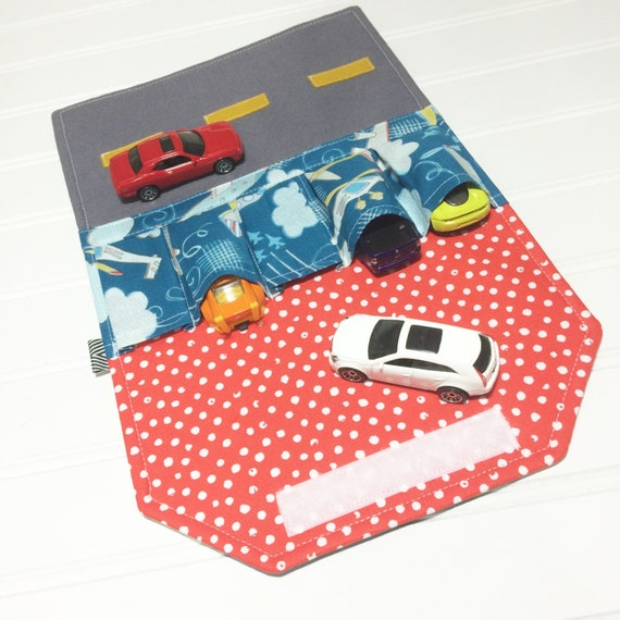 Sew A Toy Car Holder : Airplane toy car wallet carrier holder pretend