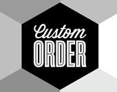 CUSTOM ORDER - Mid century modern, kitchen art, retro poster, Cathrineholm, Stig Lindberg, Danish design, wall decor, Scandinavian, A4 print