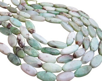 Chrysoprase Beads, Oval Shape, Chrysoprase Oval, SKU 2302