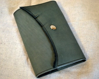 2017 Light Teal Refillable Leather Planner