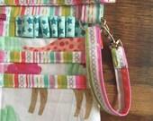 RN Scrub Pocket with Zipper in Dog Fabric