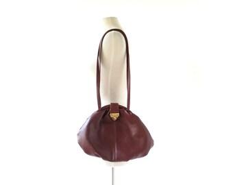 Vintage Capezio Purse | Leather Pouch Bag | 80s Purse