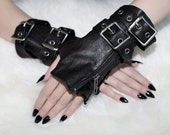 L'NAAN short lambskin gloves