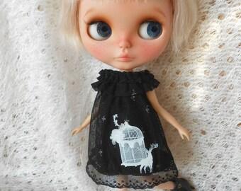 Blythe black dress