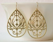 Gold Boho Earrings