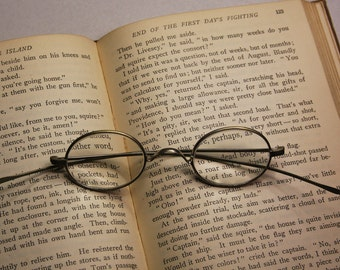 Antique EYE GLASS Spectacles- Vintage Eye wear- Victorian Glasses- Steampunk Style