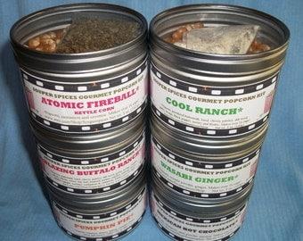 Popcorn, Popcorn Mix, Popcorn Seasoning, Popcorn Gift, Popcorn flavor, Gourmet Popcorn Mix, Popcorn Boxes, Birthday Gift, Salt Free, NON-GMO