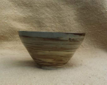 Blue-Brown Bowl 19