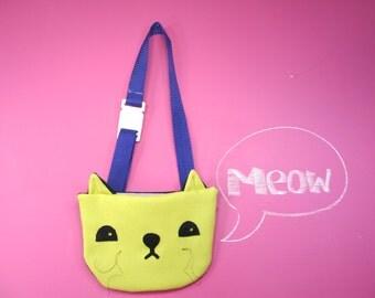 Kitty Purse. Handmade, Girl, Gift, Cat