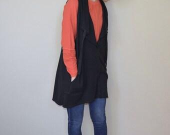 Hemp and Organic Cotton Pullover Jersey Vest