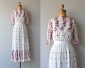 Laviroi dress | antique 1910s dress | Edwardian embroidered dress