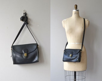 Coach 'Devon' bag | vintage black Coach purse | Coach leather shoulder bag