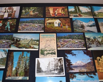 Washington State Postcards 25 Vintage Era's