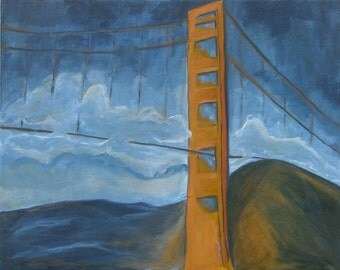 Matted print, Golden Gate SALE!