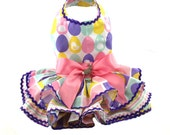 Easter Eggs dog dresses