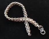Shipping Upgrade for omkarvnatu1- Sterling Silver Chain Bracelet- Men's Bracelet- Unisex Bracelet- 8 Inches Long- Made in India- Men's