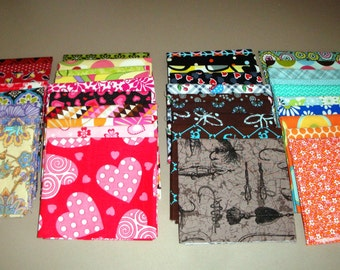Scrap Fat Quarter Bundle - Destash Fat Quarters - Fat Quarter Bundle - Designer Scrap Fat Quarters