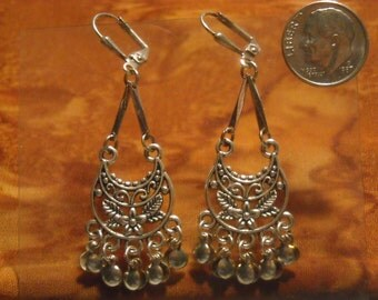 Antique Silver Boho Earrings #4