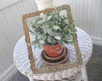 Vintage Gesso Frame * Shabby French Cottage * Chippy * Patina