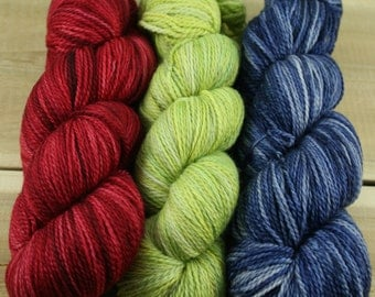 "Pillow Talk ""Trio"" - MCN Light Fingering Yarn 3 Pack (#3)"