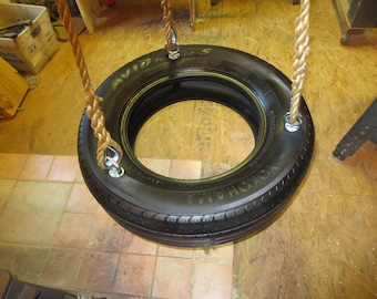 Wood Tree Swings Recycled Tire Swing Kit / Everything  But Tire