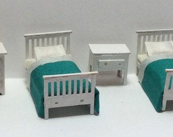 Quarter Inch Scale Modern Child's Room Furniture Kit