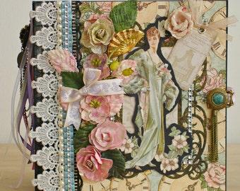 Romantic Luxe Victorian Shabby Chic Photo Mini-Album