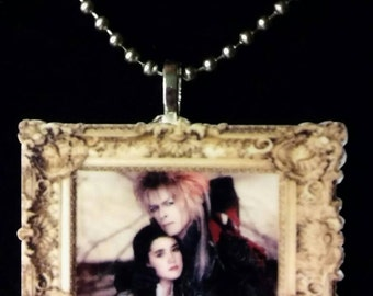 Labyrinth Sarah and Jareth Necklace