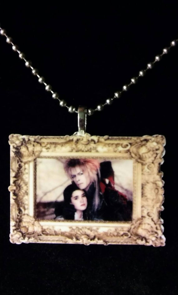 labyrinth and jareth necklace