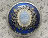 Compact Mirror Ice Dancer Bridesmaid Gift Comes With Protetive Pouch