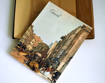 Cunard Lines Luncheon Menu from the R.M.S. Carinthia - 1957 Vintage Collectible - London Scene
