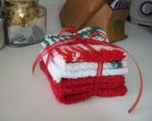 Christmas Dishcloth Set