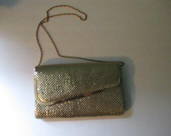Vintage Gold Chain Mail Purse