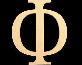 "3 24"" Unpainted Wooden Greek Letters Free Shipping Omega, Xi, Psi, Zeta, Alpha 24GK50X3   141"