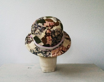 1960s hat / Lilly Dache / Hydrangea hat